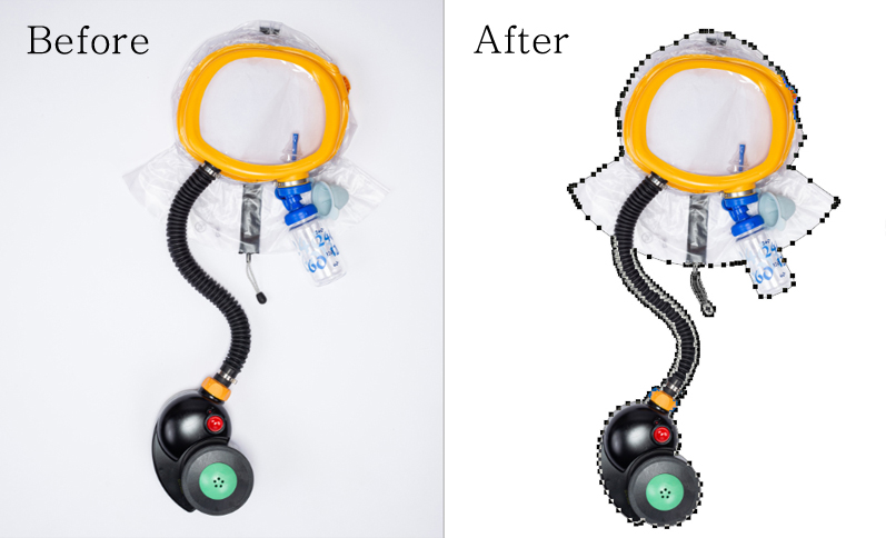 clipping path s